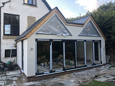 house extension work in reigate
