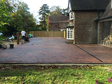 driveways and patios installed in lingfield