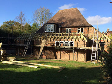 building extension in oxted area